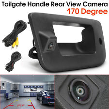 Tailgate Rear Handle Backup Camera CCD For Chevrolet GMC Silverado Sierra 07-13