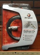Targus Defcon CL Keyless Combo Notebook Security Cable Lock New Stock 380