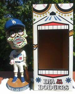 THE ORIGINAL ~ 2018 Sugar Skull LA Dodgers Dia de Los Muertos Bobblehead SGA