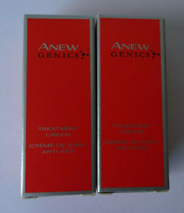 Brand New Avon Anew Genics Treatment Cream, 2x7ml (Trial/Travel Size)