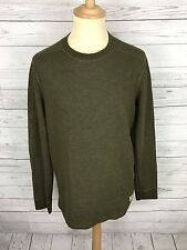 Men's Abercrombie & Fitch Jumper - Large - Green - Great Condition