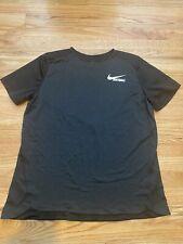 Women's Nike Softball Short Sleeve Shirt Black/Gray Large L
