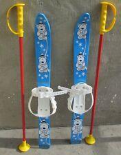 Kinderski Babyski Lernski 70cm für Kinder in Fabe Blau