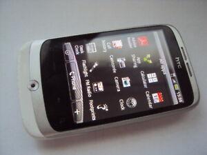 ORIGINAL HTC  PC49100 Wildfire - White  Smartphone  UNLOCKED TO ANY NETWORK
