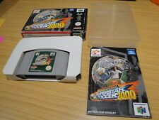 International Superstar Soccer 2000 ISS 2000. Coffret. NINTENDO 64. N64. PAL.