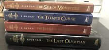 Percy Jackson and the Olympians Series Set 2-5 by Rick Riordan