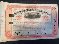Flint and Pere Marquette  Railroad Company 1888