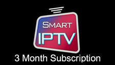 3 MONTHS IPTV SUBSCRIPTION 9000+ CHANNELS & VOD  SMART TV  VLC M3U