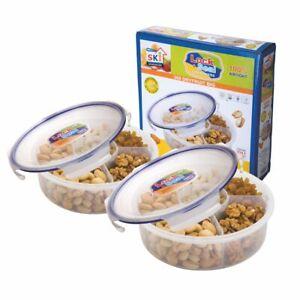 Multi Purpose Lock & Fresh Airtight Dry Fruit Spice Masala Dabba Storage Contain