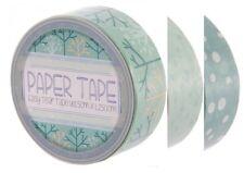 lot 3 rouleaux ruban adhésif HIVER paper masking washi TAPE embellissement