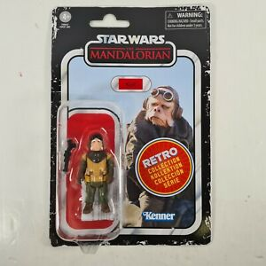 "Star Wars Retro Collection Kuiil 3.75"" Action Figure The Mandalorian Hasbro"