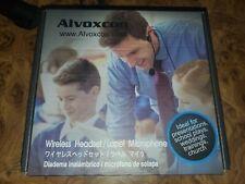 Alvoxcon TG-220 Dual Wireless Lapel Mic Headset Lavalier Microphone System