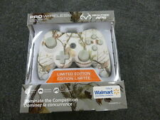 REDUCED Power A Realtree Pro Wireless PS3 Controller Xtra WHITE CAMO