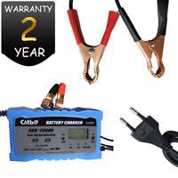 Chargeur de Batterie Voiture Rapide Smart Indicateur Pour Auto/Moto 6-10A 12/24V