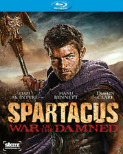 Spartacus: War of the Damned (Blu-ray, 2013, 3-Disc Set) *NEW SEALED*