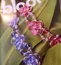 Bead Style Floral bracelet, Seaside Beach Wear Necklace Sherbet colors Projects