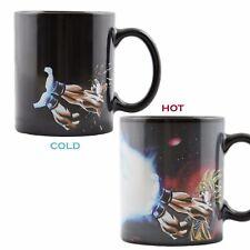 Heat Reactive Mug Color Changing Dragon Ball Z Goku Saiyan Ceramic Coffee Cup