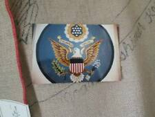 Great Seal Of United States Rug Hooking Burlap Canvas 45 Inches Diameter-Joan Mo