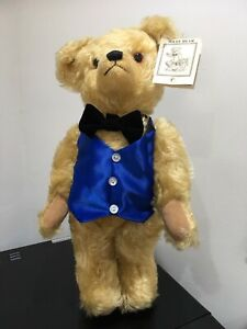 "Deans Limited Edition Color Box Mohair Bear ""Miles"" # 206/500"