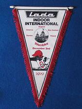 Vintage Speedway Pennant - Lada Indoor International - 1979 - Wembley