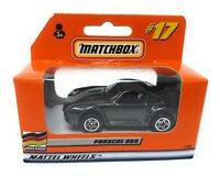 Matchbox MBX Superfast 1999 No 17 Porsche 959 dark grey met German issue