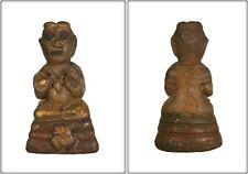 Kumanthong LP TAE,Wat Samngam, Thailand, Lucky and Protection Life, Thai Amulet.