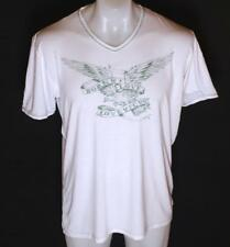 Men's French Connection Short Sleeve T Shirt Love To Fcuk V Neck Stretch New