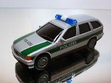 HONGWELL BMW 325i TOURING E36 POLIZEI - GREY METALLIC 1:43 - GOOD CONDITION