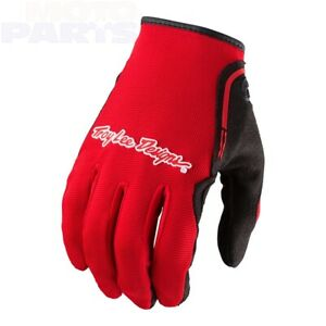 Gloves Troy Lee Designs XC red, size S, XXL MTB Downhill BMX DH Gear