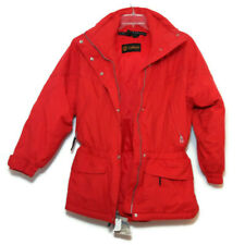 Sport Kaelin Womens Size 12 Ski Jacket Puffer Bright Orange Red Waterproof