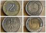 POLOGNE 5 - 10 groszy 1962 - 1991 / 1 zloty 1994 - 2 zlote 1995 - 5 zlotych 2010