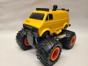 Vintage 1988 Tomy Rip Rock'n Rollers Van Motorized Shifter Pull Cord Recoil Toy