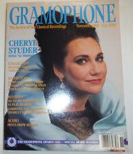 Gramophone Magazine Cheryl Studer Richard Strauss November 1992 032515R2