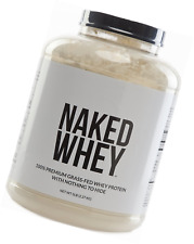 NAKED WHEY 5LB #1 Undenatured 100% Grass Fed Whey Protein Powder - US Farms, Bul