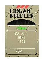 Organ Needles 88x1 ( Box of 100 Needles ) For singer sewing machines