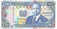 Kenya 20 Shilingi 1993 Unc pn 31a