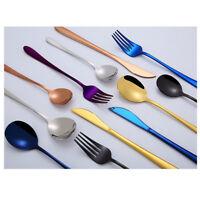 Kitchen Utensil Set Stainless Steel Cooking Baking Spoon Fork Table-Knife