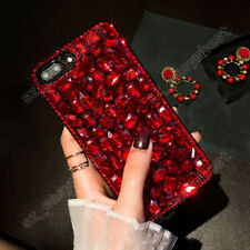 Luxury Lady Case Bling Colorful Diamonds Rhinestones Jewelled Cover For Samsung