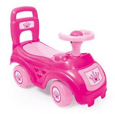 Dolu Toys Sit & Ride on Pink Car Vehicle Storage Under Seat Childrens Push Along Toy