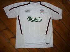 Liverpool FC Jersey + XL + Camiseta 2a Equipación+Reebok+03 Temporada + Epl