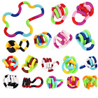 Tangle Fidget Toys Twist Stress Autism Gift Sensory Anxiety Relief Adults Kids <br/> ⭐️⭐⭐✅ 16+ VARIATIONS TANGLE ✅FREE P&P💕UK STOCK✅⭐⭐