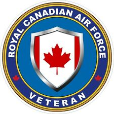 Royal Canadian Air Force RCAF Veteran Vet Decal / Sticker
