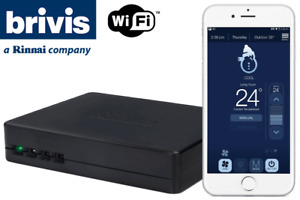 New Brivis / Rinnai Touch Wifi Controller Gas Ducted Heater Evaporative Cooling