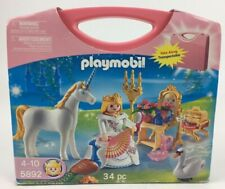 NEW! Playmobil Princess Magic Castle Carrying Case Queen (5892) Kids Toys