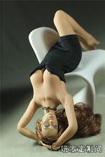 1/6 Customize Clothes Black DeepV Mini Skirt F Phicen Female Large Breast Figure