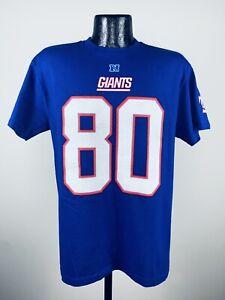 Men's NFL Apparel New York Giants Blue #80 Victor Cruz Player Shirt NWT Medium