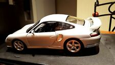 PORSCHE 911 TYPE 996 GT2 GRISE AUTOART 1/18 FIRST EDITION