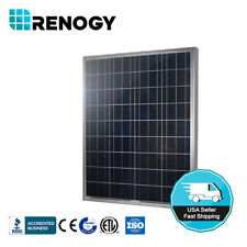 Renogy 100W Watts Solar Panel 12 Volt Poly Off Grid for Battery Charge RV Boat