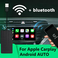 Auto Wireless Bluetooth Smart Link USB Dongle MP5 Player For CarPlay IOS Android