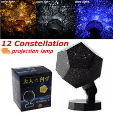 Romantic Projector Night Light Astro Star Sky Laser Cosmos Lamp Gift Home Decor